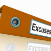 Excuses File Contains Reasons And Scapegoats