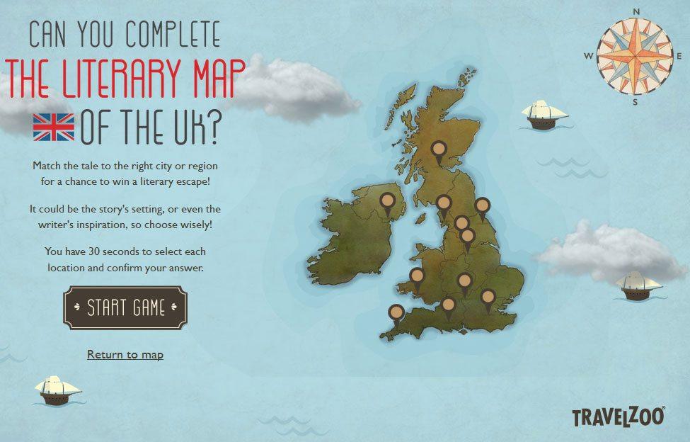 Fun, fun, fun! How well do you know literary Britain?