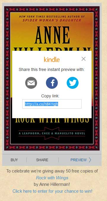 Editor's Desk: Kindle Instant Previews – Allow readers to preview your book on your site. Plus FREE book giveaway!