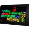 Online criminal concept