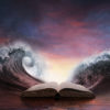 Oceans parted around book