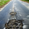 A pot hole is like a plot hole - it disrupts the flow of the story