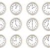 12 Clocks